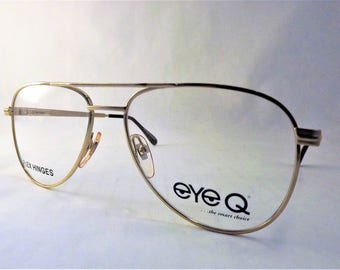 576eaa870771 Mens Aviator Eyeglasses Zeiss Competition Frames Big Gold