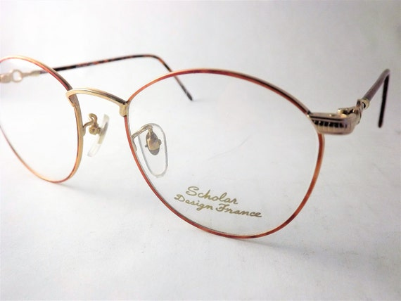 Steampunk Eyeglasses Womens Oval Round Eyeglass Frames Chain | Etsy