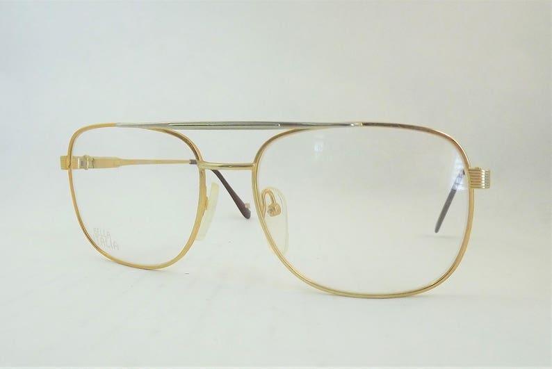77c488a9bac4 Mens Gold Glasses Chrome Silver Eyeglasses Metal Eyeglasses