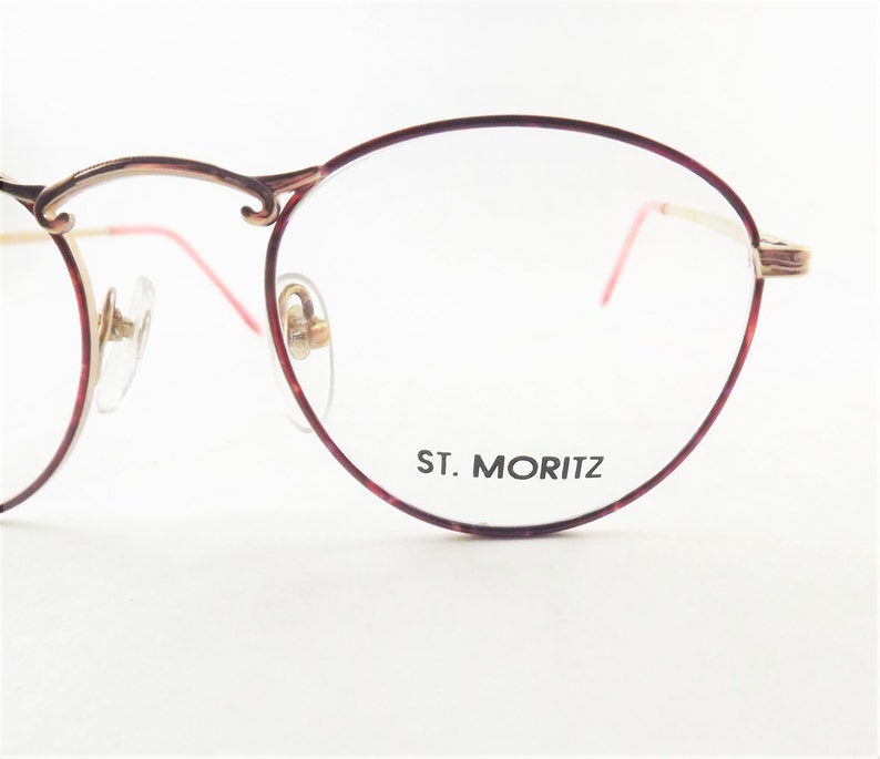 a8fea79c05 Womens Round Eyeglasses Brown Tortoise Shell Glasses Preppy