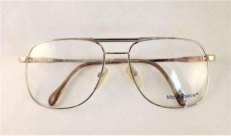 348394722bf Mens Eyeglasses Gold Metal Aviator Eyewear American Optical