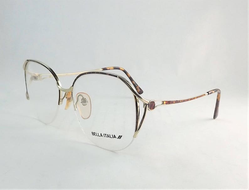 8ba62cd3b8c Tortoise Shell Eyeglasses Gold Metal Glasses Womens Wire