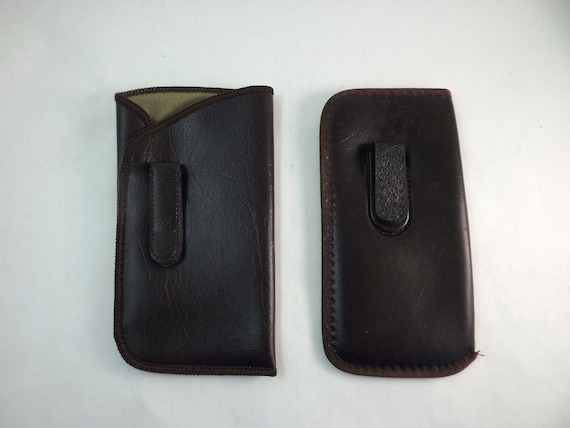 1c889bcf0610 Mens Eyeglass Case Mens Clip On Eyeglasses Case Mens Brown