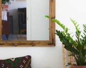 Set of Mirrors, Pair of Mirrors, Rustic Wall Mirror, Large Wall Mirror, Vanity Mirrors, Bathroom Mirror, Rustic Mirror, Reclaimed Wood