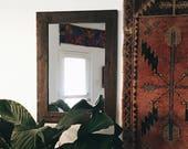 Rustic Wall Mirror, Small Wall Mirror, Vanity Mirror, Bathroom Mirror, Rustic Mirror, Reclaimed Wood Mirror, Small Wall Mirror, Wood Mirror
