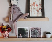 Picture Ledge, Hardwood Shelf, Gallery Shelf, Ledge Shelf, Nursery Shelf, Wooden Shelf, Walnut Shelf, Maple Shelf, Floating shelves, Home