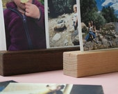 Photo Shelf, Photo Rail, Photo Ledge, Desk Decor, Maple Shelf, Photo Display Shelf, Hardwood Shelf, Wood Ledge, Wedding Gift, Shelf, Photo