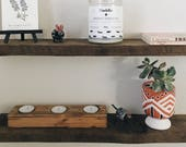 Rustic Floating Shelf, Floating Shelf, Wooden Floating Shelf, Wood Shelf, Wooden Shelf, Wooden Floating Shelf, Wall Shelves, Reclaimed Wood