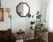 Mirror, Wall Mirror, Rustic Mirror, Modern Decor, Bathroom Mirror, Geometric Mirror, Wood Mirror, Large Mirror, Vanity Mirror, Mirrors, Home