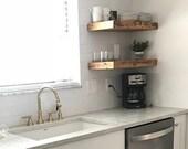 Marked Down Floating Shelf Set, Wooden Shelves, Floating Shelves, Sale Shelves, Kitchen Shelves, Shelving, Organization, Shelf, Wood Shelves