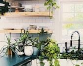 Wooden Wall Floating Shelf, Nursery Shelf, Essential Oil Shelf, Floating Shelf Bracket