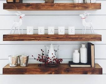 wood shelf etsy