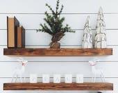 Floating Shelf, Rustic Floating Shelf, Wooden Floating Shelf, Wood Shelf, Wooden Shelf, Wooden Floating Shelf, Wall Shelves, Reclaimed Wood