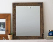 Set of Mirrors, Mirror Set, Wood Mirrors, Rustic Mirrors, Wall Mirrors, Vanity Mirrors, Bathroom Mirrors, Reclaimed Wood Mirrors, Rustic
