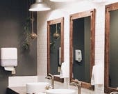 Set of Large Mirrors, Large Mirrors, Large Wall Mirror, Wood Mirrors, Rustic Mirrors, Wall Mirrors, Vanity Mirrors, Bathroom Mirrors, Mirror
