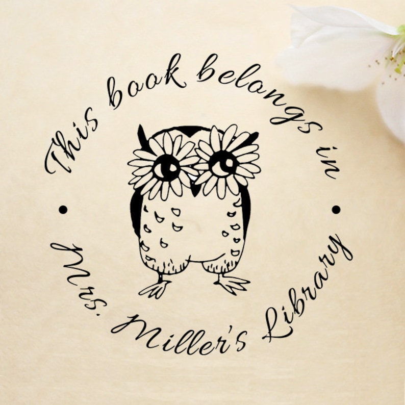 custom library stamp,SELF INKING personalized book stamp,teacher stamp,LR14 on sale