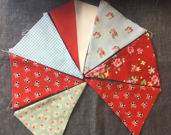 Multi Style Bunting Flags - 7 Flags