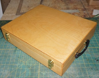 The Big Daddy Magic Deck Case - holds 3000+ Cards - Magic Deck Box - Custom Wood Carrying Case for TCG Magic the Gathering Pokemon Yugioh