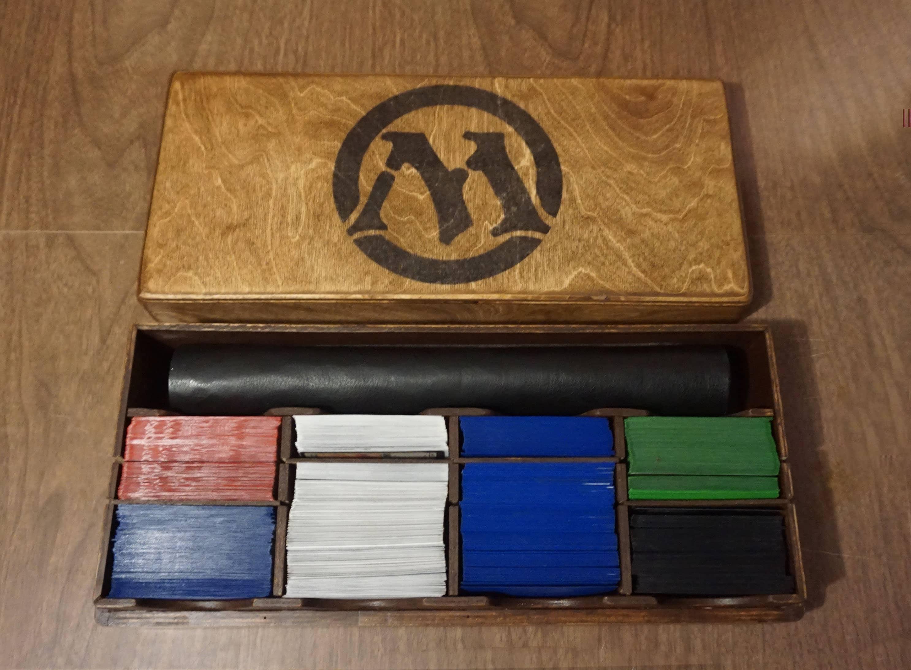 MTG-Spiel-Matte Krabbeldecke-Deck-Box Magic Gathering | Etsy