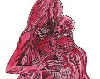 Enola- Crimson Peak Art Print