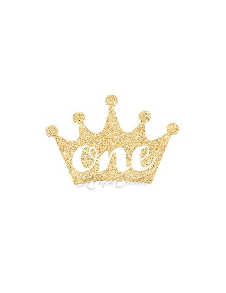 77054bc4 One Iron On Birthday Iron On Iron On DIY Princess Crown | Etsy
