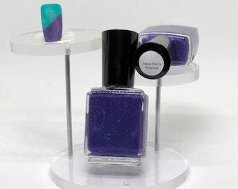 Space OddityThermal Indie Polish Purple to Turquoise