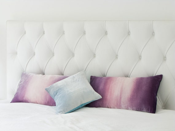 Ice Blue Velvet Decorative Cushionpillow Cover 40 Etsy Beauteous Ice Blue Decorative Pillows