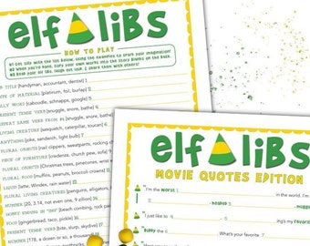 A Christmas Story Party Game Christmas Mad Libs Printable Etsy