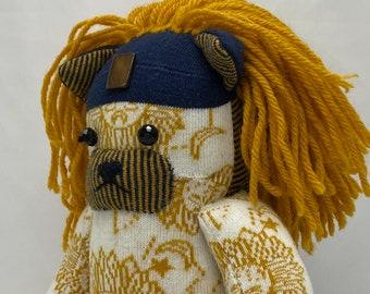 Leonardo Welterweight: Sock Lion Art Doll