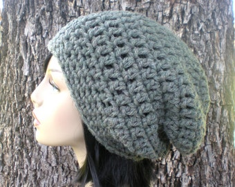 2 PATTERNS: Willow Slouch & Ear Band, Easy crochet PDF, Adult/ teen, slouchy hat, bulky chunky yarn, InStAnt DoWnLoAd, Permission to Sell