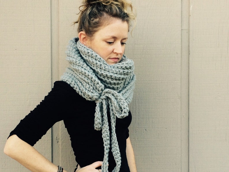 DIY Crochet Pattern:  Super Bulky Yarn easy crochet P D F image 0