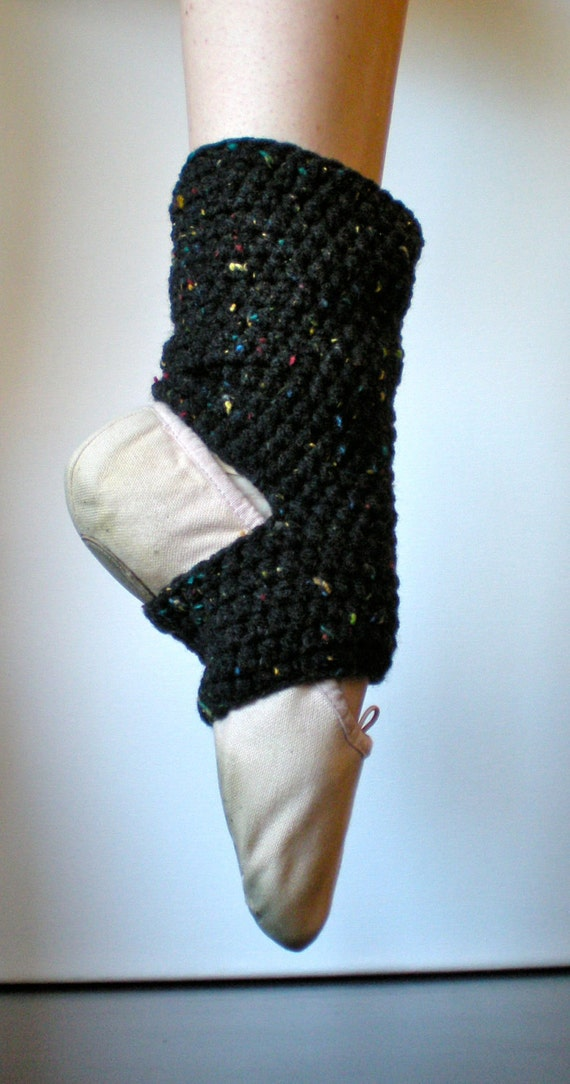 Pattern Warmers Easy Crochet Dance Ballet Leg Warmers Yoga Socks Teen Adult Ankle Black Instant Download Permission To Sell