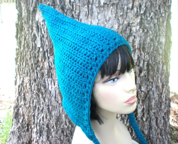 c973e44bd35 PATTERN  Pixie Hood woodland fairy elf hat Adult  Teen