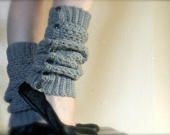 DIY Crochet Pattern:  Cambridge Warmers, fashion leg warmers, easy crochet, adult/ teen, PDF, InsTanT DownLoaD, Permission to Sell