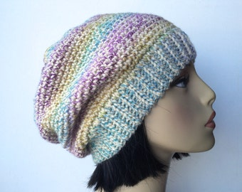 DIY Crochet Pattern:  Pasha Beanie, easy crochet, slouch beanie, adult/ teen size, slouchy hat, InsTanT DownLoaD, Permission to Sell