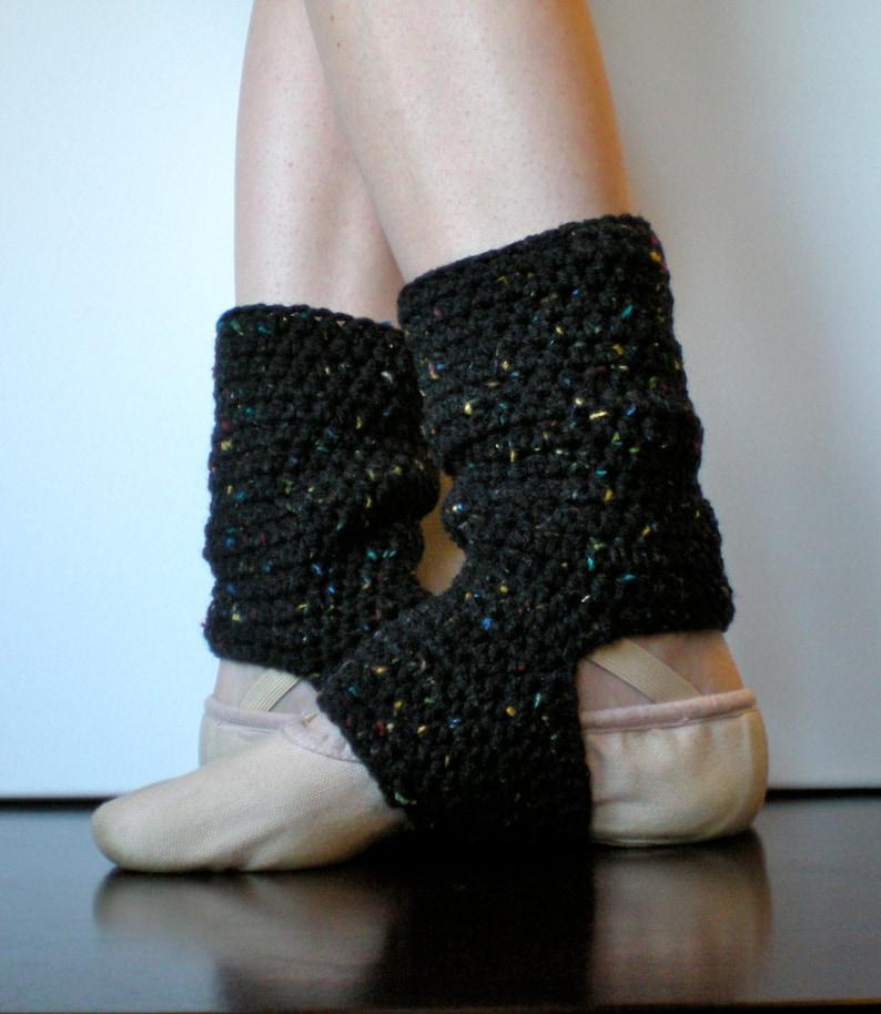 PATTERN:  Warmers Easy Crochet Dance Ballet Leg Warmers image 0