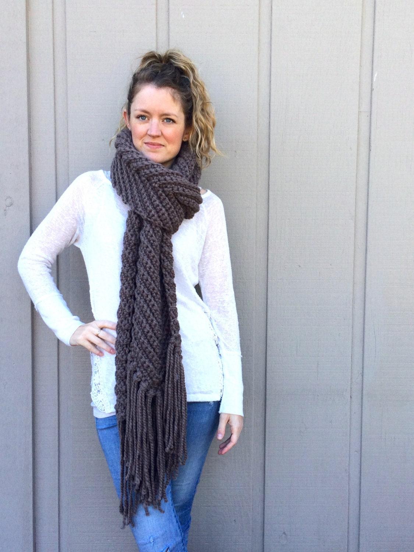 2 Crochet Patterns Infinity Scarf Cowl Super Bulky Chunky Etsy