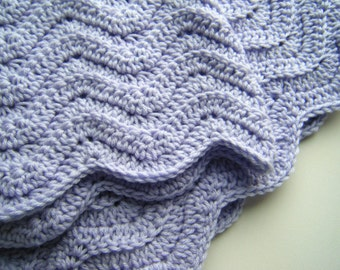 PATTERN: Baby Afghan,shower gift, boy girl, carseat size, rippled chevron stripes, Easy Crochet P D F, InStAnt DowNLoaD, Permission to Sell