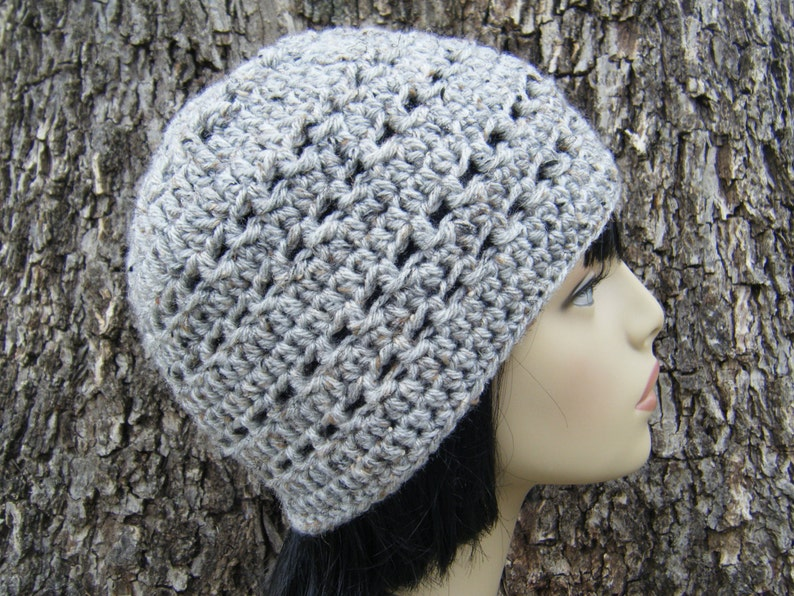 PATTERN: Dash Beanie Easy crochet hat pattern PDF image 0