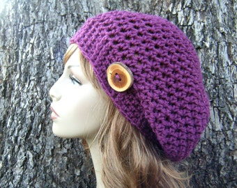PATTERN: Skylar Hat, 2 sizes, Adult and Child slouch beanie, Easy crochet PDF, textured slouchy hat, InStAnt DoWnLoAd, Permission to Sell