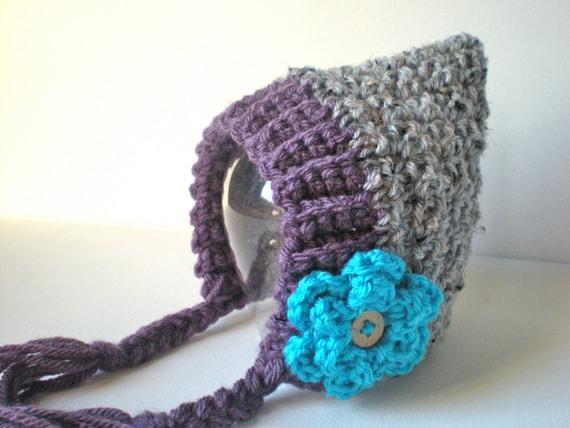 PATTERN  Seedling Pixie Bonnet baby hat 3 Sizes easy  446a660c401
