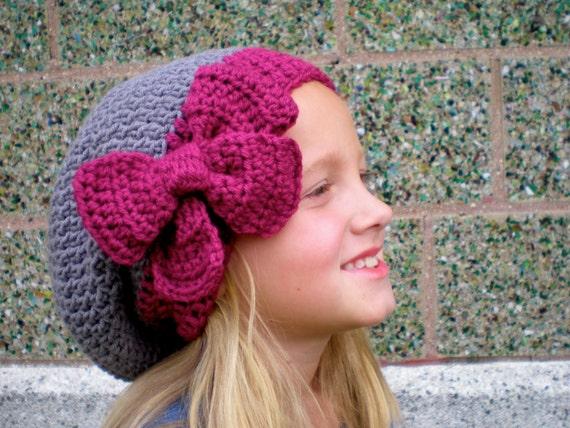 b3e3e0d0662 PATTERN  3 in 1 hat pattern Kids  Slouch Hat slouchy