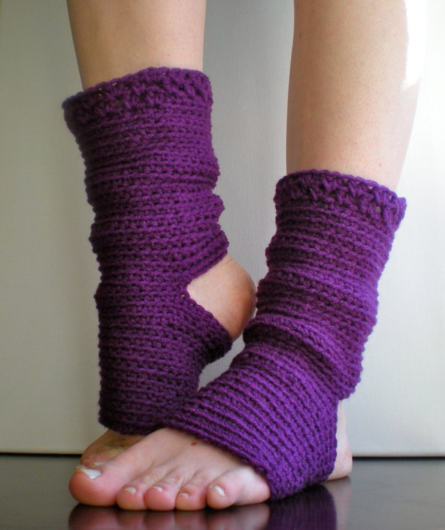 PATRÓN: Yoga calcetines danza Pilates Ballet calentadores   Etsy