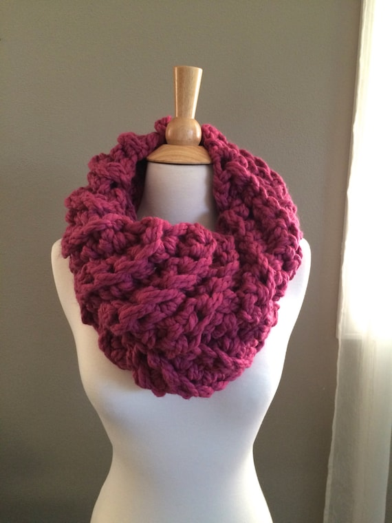 Diy Crochet Pattern Ceces Cowl Super Bulky Cowl Easy Etsy
