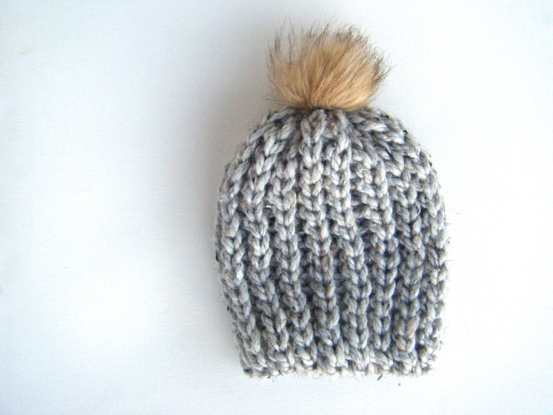DIY Crochet Pattern: Snow Cap Hat 4 sizes baby through adult image 0