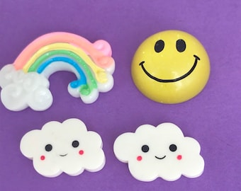 Smiley Face Cloud Etsy