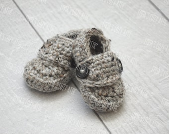 Baby loafers, baby shoes, baby booties, baby boy shoes, crochet baby boy shoes, infant shoes, infant baby shoes, infant booties