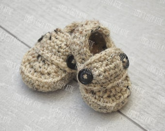 Crochet baby booties, baby boy shoes, infant boy loafers, baby loafers, baby boy booties, baby shoes, infant baby shoes