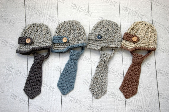 cb09e2baf58 Newsboy hat and necktie newborn baby boy newsboy hat baby