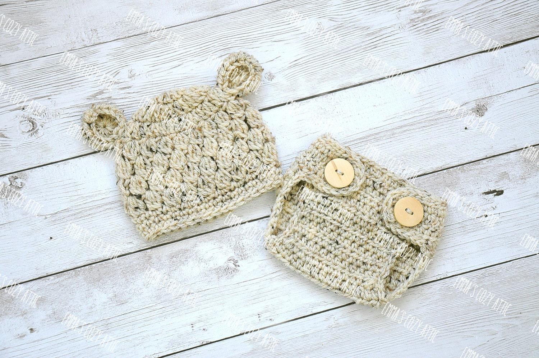 Sombrero del oso del bebé sombrero del muchacho recién | Etsy